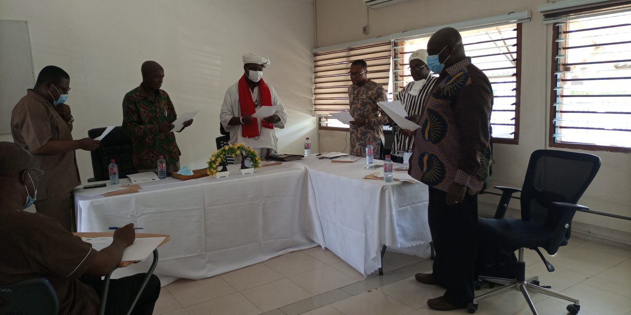 Inauguration of Traditional Medicine Practice Council Publicity Committee